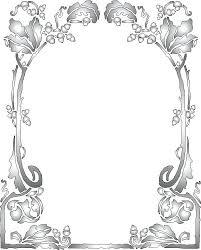 Paper Photo Frame Designs Picture Diy Border