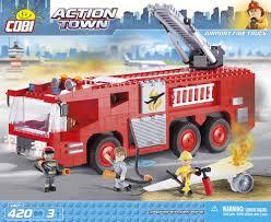 100 Airport Fire Truck COBI Blocks From EU