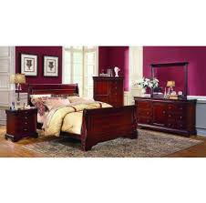 Full Sleigh Bed by Full Beds Sacramento Rancho Cordova Roseville California Full