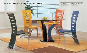 5443 Multi Colored Dining Set