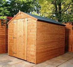 6x8 Wooden Storage Shed by 6 8 Shed Plans Blueprints For Sturdy Gable Shed