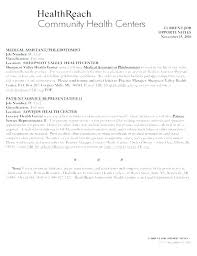 Sample Resume Of Medical Assistant Objective Examples