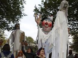 West Chester Halloween Parade by Halloween Weekend Hudson Valley Sleepy Hollow Haunts Nyack Parade