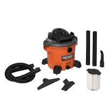 Husky Wet Tile Saw by Ridgid 12 Gal 5 0 Peak Hp Wet Dry Vac Wd1270 The Home Depot