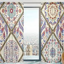 mnsruu fenster gardinen vintage türkische muster weichen