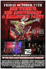 Safe Halloween Bakersfield 2017 by 3rd Wheel U0027s 3rd Anniversary U0026 Halloween Party By 3rd Wheel On