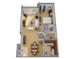 100 Small One Bedroom Apartments Architectures Plans Large Ideas Floor