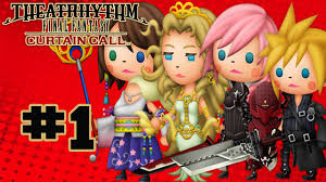 Final Fantasy Theatrhythm Curtain Call Best Characters by Theatrhythm Final Fantasy Curtain Call Walkthrough Part 1 Music