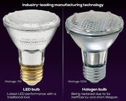 torchstar dimmable par20 led light bulb 7w 50w equivalent led