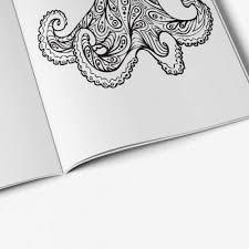 Anti Stress Coloring Book Ocean Designs Vol 1 7