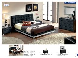 Black Leather Headboard Bed by Bedroom Furniture Modern Bedrooms Toledo 603 Black M73 C73 E93 Jpg