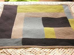 Moderne Log Cabin Baby Blanket by iheartmytho