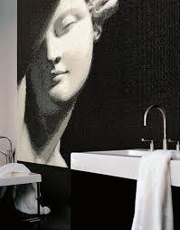 ideen für ein schönes bad badezimmer mit mosaik fliesen