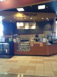 Kiosk inside Nebraska Furniture Mart Picture of Java Land
