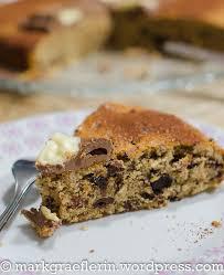 resteverwertung schokoladen haselnuss kuchen mit nikolaus