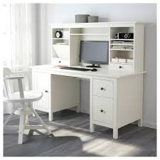 Under Desk File Cabinet Ikea by Hemnes Desk With Add On Unit White Stain Ikea