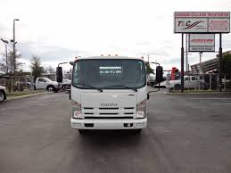 2014 Used Isuzu NPR HD 20FT FLATBED STAKE BED WITH LIFTGATE At Tri ...
