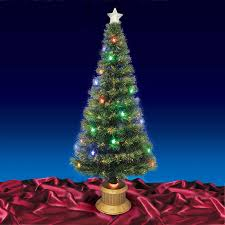 Christmas Tree Lights Led Pre Lit Musical Snowing Artificial Red Http 75