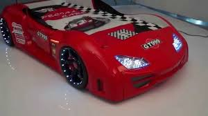 Lighting Mcqueen Toddler Bed by Supercar Red Gt999 Race Car Bed With Led Light Usa Coolest