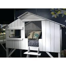 chambre enfant cabane chambre cabane garcon lit cabane gris pour chambre enfant lit cabane