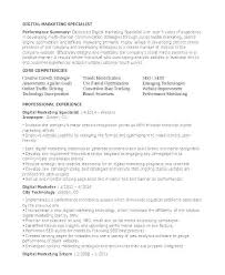 Communication Resume Examples Marketing Communications Samples Specialist Sample Templates Major