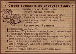 coeurs fondants au chocolat blanc de nestlé cuisiner tout