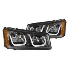 2004 chevy silverado custom factory headlights carid