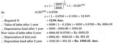 Sinking Fund Formula For Depreciation by Essay On Depreciation Of Machines Industries