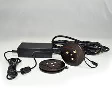 nora lighting nmpk2 3led30 led puck kit cabinet light the mine