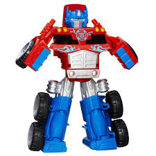 Amazon.com: Playskool Heroes Transformers Rescue Bots Optimus Prime ...