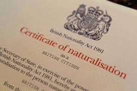 bureau naturalisation requirements for naturalisation as a citizen