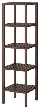 ikea molger 140 cm brown solid wood