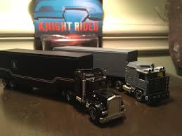 CUSTOM KNIGHT RIDER Semi Truck And Goliath Tractor Trailer Retro ...