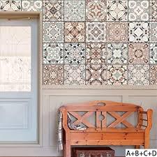 liuhoue home fliesen wand sticker arabischer stil retro