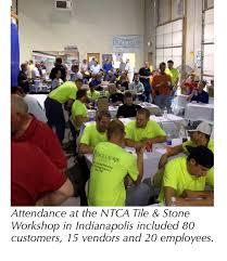 ntca brings custom workshop to louisville tile distributors