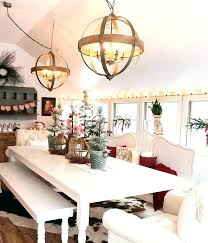 Rustic Wood Chandelier Round Dining Room Lights Lighting Chandeliers Large For Rooms French Country Cottage Style