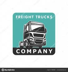 100 Motor Truck Cargo Cargo Freight Logo Template Stock Vector