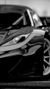 Black Super Sports Car iPhone 5 Wallpaper freebestpicture
