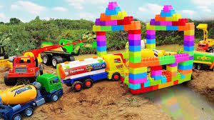 Build Bridge Blocks Toys For Children | Excavator Tractor Dump Truck ... 122 Large Garbage Truck Sanitation Children Toys Kids Inertia The Top 15 Coolest For Sale In 2017 And Which Is Usd 10180 Cat Carter Electric Plowing Truck Heavy Duty Crawler Toy Trucks That Tow And Advertised On Tv Metal For Toddlers Cute Toys Classic Car Set Cars Hiinst Best Seller Drop Ship Christmas Gift Disassembly Antique Monster Jeep Hot Wheels Pac Man Learn Colors With Pac Man Back To Future Llc Fire Rc Transforming One Lift Boys 2 3 4 5 Year Old Boy Kids Lights Toddler Semi 18 Wheeler Semi Rig Ride