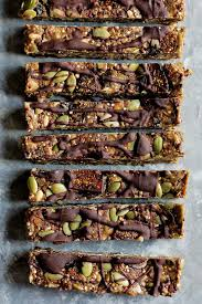 Pumpkin Flaxseed Granola Nutrition by Superfood Nut Free Granola Bars Recipe Ambitious Kitchen
