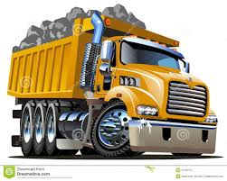 Cartoon Dump Truck Stock Vector. Illustration Of Cool - 29199727