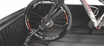 Truck bed bike rack Thule