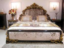 The Collection of Italy wooden bedroom furniture designs