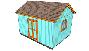 Free 10x12 Gambrel Shed Plans by How To Build A Roof For A 12x16 Shed Howtospecialist How To