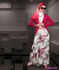 صور تصميمات ناعمه لملابس المحجبات 2018