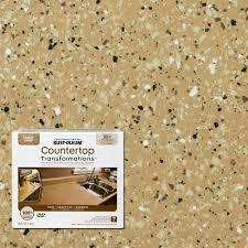 Bathtub Refinishing Kit Home Depot by Rust Oleum Transformations 48 Oz Charcoal Small Countertop Kit