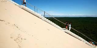 bassin d arcachon l escalier de la dune du pilat a été remis en