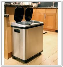 Creative Of Kitchen Trash Can Ideas Great Home Interior Designing With