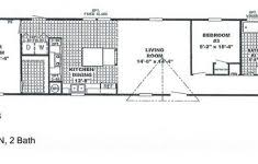 Single Wide Mobile Home Floor Plans and Best Single