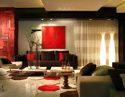 Red And Black Living Room Ideas by Red Living Rooms Contemporary Living Room In Beige Color Scheme